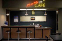Jet-A-Way Cafe at Topeka Regional Airport